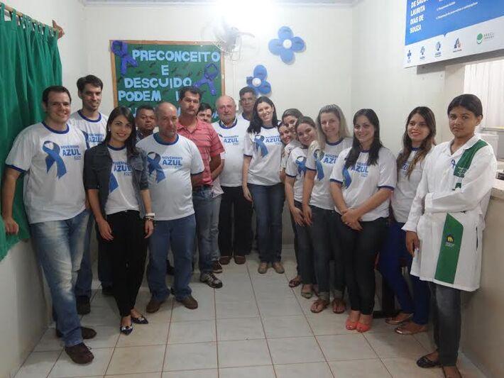 Equipe Novembro Azul<br />Foto: Divulgação