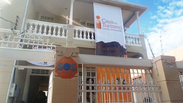 Cada do Turismo fica na rua XV de Novembro, 532, Centro<br />Foto: Leide Laura Meneses