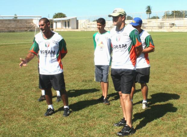 Rezende e Claudinho retornam ao Naviraiense<br />Foto: Gazeta MS