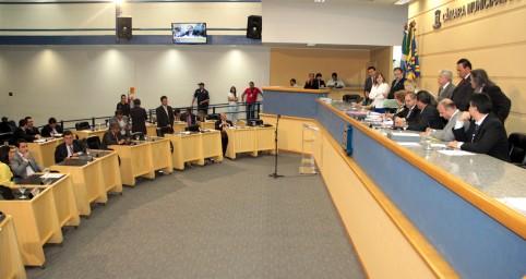 Sessão na Câmara dos Vereadores<br />Foto: Divulgação