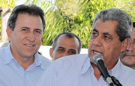 Edson Giroto e André Puccinelli<br />Foto: Divulgação