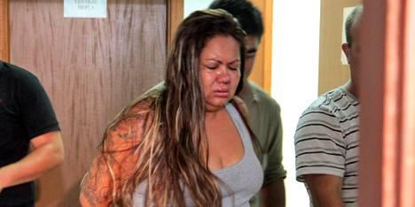 A manicure Renata Silva de Jesus e mais três foram condenados pelo sequestro de um bebê no ano passado<br />Foto: Divulgação
