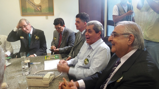 Eduardo Cunha (PMDB-RJ), diz estar confiante no maior número de apoio no Estado<br />Foto: Tayná Biazus
