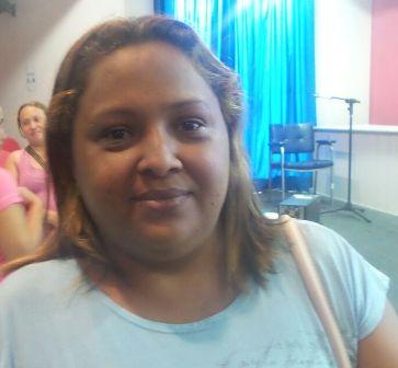 Laurezete da Silva reclama de descaso do prefeito com adolescentes<br />Foto: Leide Laura Meneses