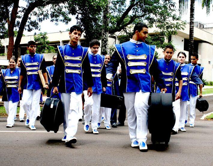 Apresentação encerra as atividades de 2014<br />Foto: Divulgação