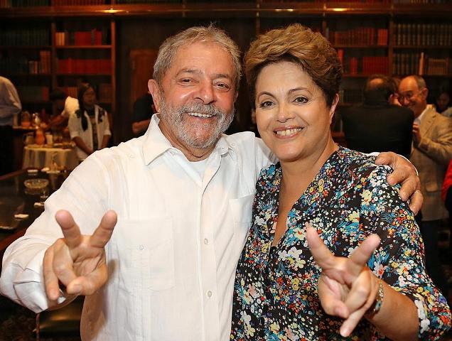 Ex-presidente Luiz Inácio Lula da Silva e presidente Dilma Rousseff (PT)<br />Foto: Ricardo Stuckert