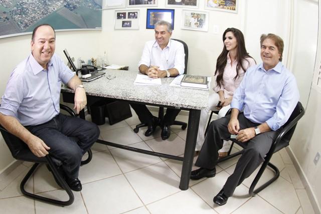 Integrantes do PSC Nacional e regional reafirmam compromisso com governador eleito<br />Foto: Assessoria