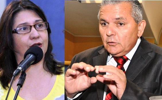 Vereadora Luiza Ribeiro (PPS) e vereador Airton Saraiva (DEM)<br />Foro: Reprodução