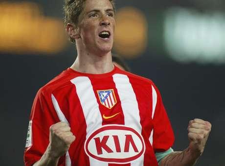 Fernando Torres surgiu brilhando pelo Atlético<br />Foto: Luis Bagu / Getty Images