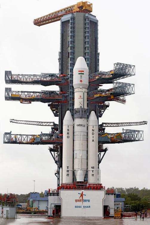 Protótipo do GSLV Mark III voa com sucesso na Índia<br />Foto:Isro