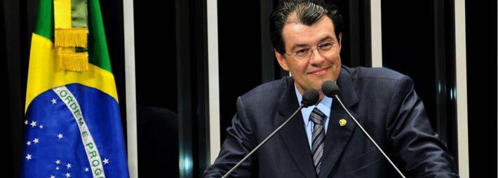 Senador Eduardo Braga (PMDB-AM)<br />Foto: Divulgação