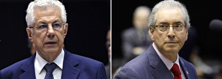 """<p style=""""text-align: justify;"""">Embora o PT tenha lançado nesta quarta-feira (17) a candidatura do deputado federal Arlindo Chinaglia a presidente da Câmara, a possibilidade de um acordo com o PMDB, que tem como candidato ao mesmo cargo Eduardo Cunha, n"""