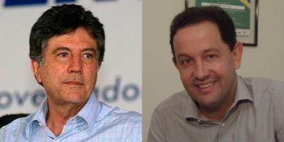 Prefeito de Dourados Murilo Zauith (PSB) e Walter Carneiro Junior, ex-secretário de fazenda de Dourados