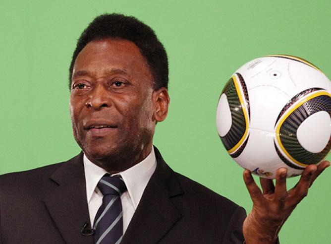 Pelé, ex-jogador de futebol<br />Foto: Divulgação