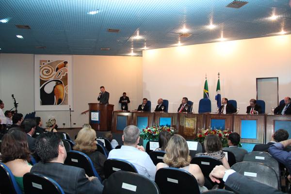 Solenidade de posse<br />Foto: Divulgação