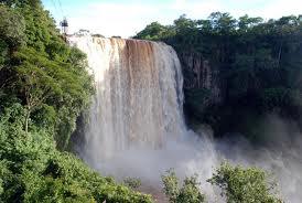 Cachoeira do rio Sucuriú, em Costa Rica<br />Foto: Reprodução