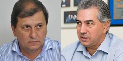Sergio de Paula e governador eleito Reinaldo Azambuja (PSDB)