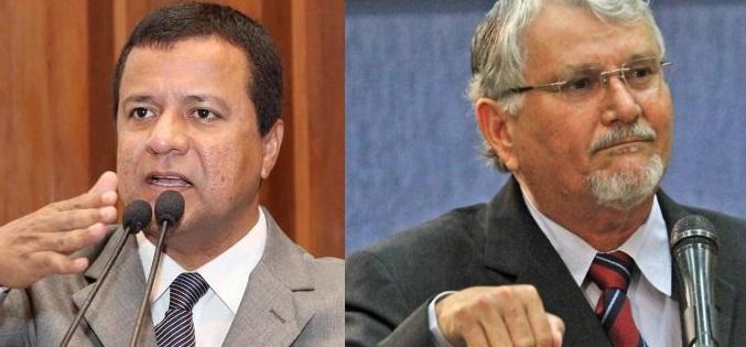 Deputado estadual Amarildo Cruz (PT) e vereador e deputado federal eleito, Zeca do PT<br />Foto: Divulgação