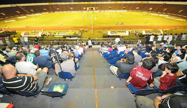 Estádio Douradão pronto para o Campeonato Estadual<br />Foto: Ademir Almeida/Arquivo