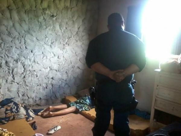 Adolescente foi morto estrangulado por fio de energia. (Foto: Osvaldo Duarte)