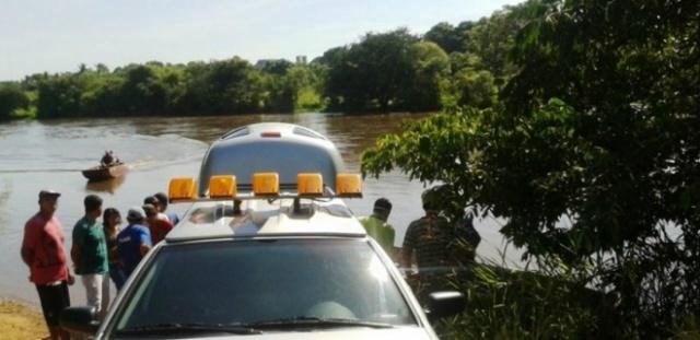 O corpo estava no Córrego Vitória, distante 3 quilômetros de distancia do local onde foi visto pela ultima vez- Foto: Vicentina Online
