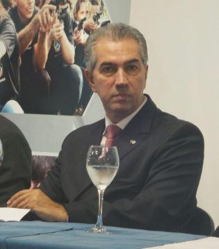 Reinaldo Azambuja (PSDB) afirmou que vai ajudar municípios com parcerias<br />Foto: Tayná Biazus
