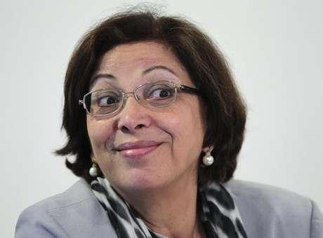 Ministra Ideli Salvatti no Palácio do Planalto. 3/7/2012<br />Foto: Ueslei Marcelino / Reuters