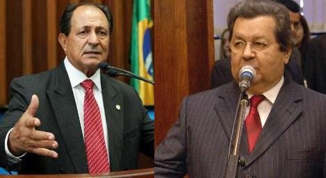 Deputado estadual Zé Teixeira (DEM) e deputado estadual Onevan de Matos (PSDB)<br />Foto: Reprodução