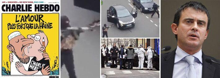 """</p> <p style=""""text-align: justify;"""">Reflexo imediato do ataque à redação do semanário satírico Chalie Hebdo, o governo francês pretende ampliar os investimentos em segurança e aprovar uma nova lei antiterrorismo mais rigorosa. Para o premiê Manuel Valls"""