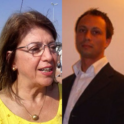 Katia Castilho e Boris Ulrich da Swarco