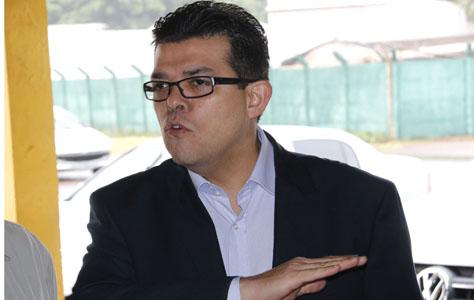 Prefeito de Campo Grande Gilmar Olarte