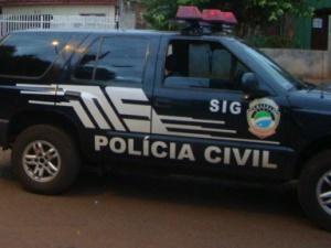 Segundo a Polícia Civil, os suspeitos promoviam uma festa, no Jardim Oliveiras, com som alto<br />Foto: Divulgação
