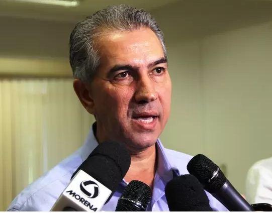 Reinaldo Azambuja (PSDB), governador de Mato Grosso do Sul<br />Foto: Arquivo
