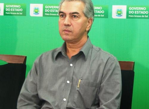 Governador de Mato Grosso do Sul, Reinaldo Azambuja (PSDB)<br />Foto: Dany Nascimento