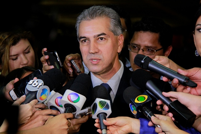 Reinaldo Azambuja (PSDB), governador de Mato Grosso do Sul