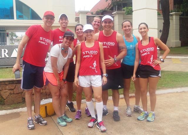 Grupo pratica corrida todos os sábados no Parque dos Poderes