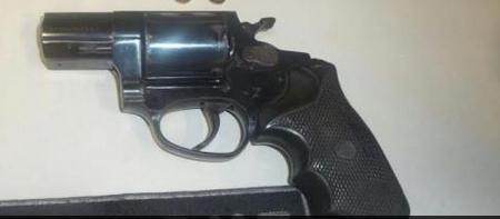 Arma usada em um dos crimes