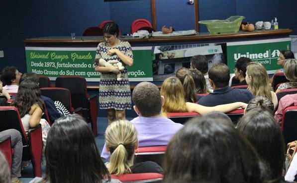 O curso é oferecido pela Unimed Campo Grande e será realizado nos dias 9, 11, 12 e 13 de fevereiro
