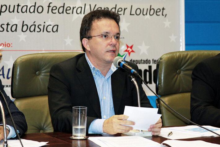 Deputado federal Vander Loubet (PT)
