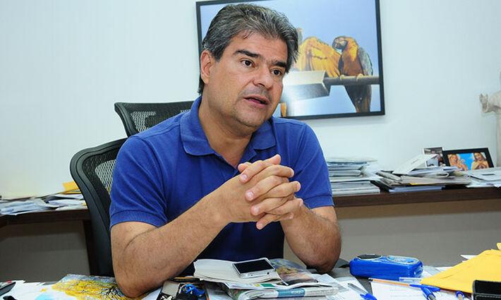 Ex-prefeito de Campo Grande Nelsinho Trad (PMDB)