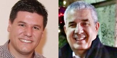 Empresários Luciano Dolzan e João Amorim