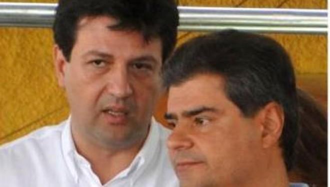 Luiz Henrique Mandetta e Nelson Trad Filho