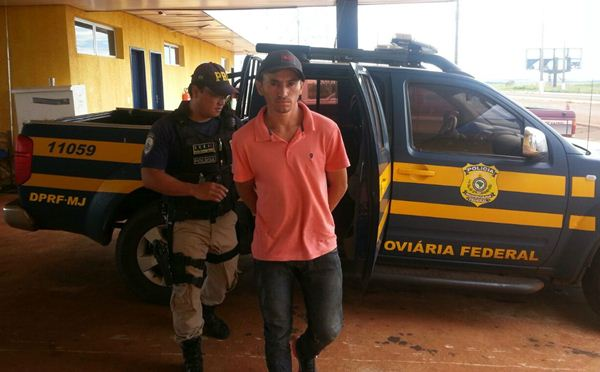 Acusado foi levado para delegacia de Ponta Porã