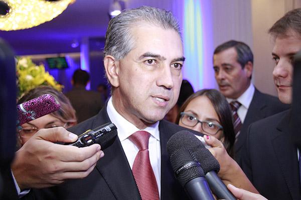 Governador do Estado, Reinaldo Azambauja (PSDB)