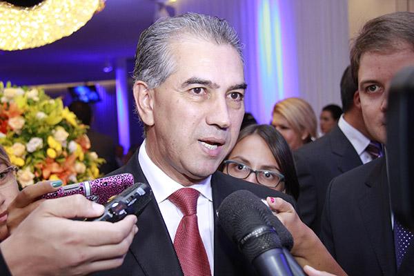 Governador reinaldo Azambuja (PSDB)