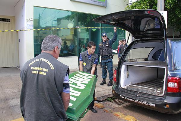 Bruno Alves Santos foi assassinado no local de trabalho/Foto: Wanderson Lara