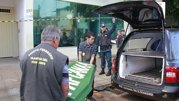 Bruno Alves Santos foi assassinado no local de trabalho