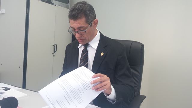 Delegado responsável pelo caso, Miguel Said