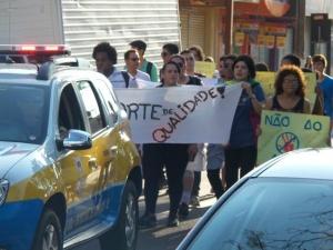 Estudantes de Dourados reivindicam  melhorias no transporte público