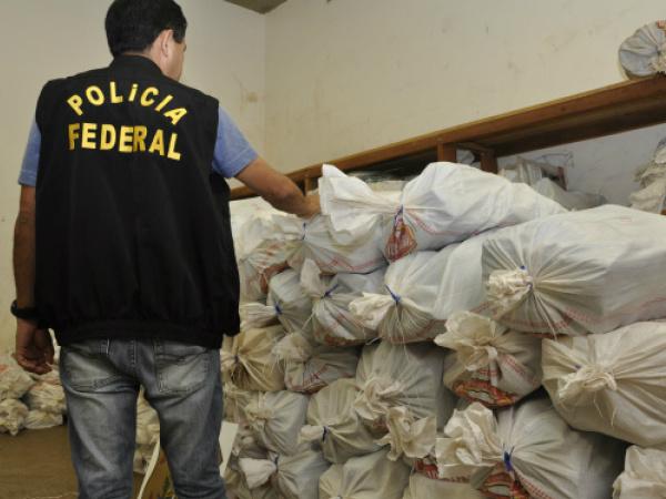 Polícia Federal de Dourados tem as maiores apreensões de drogas do Estado neste ano